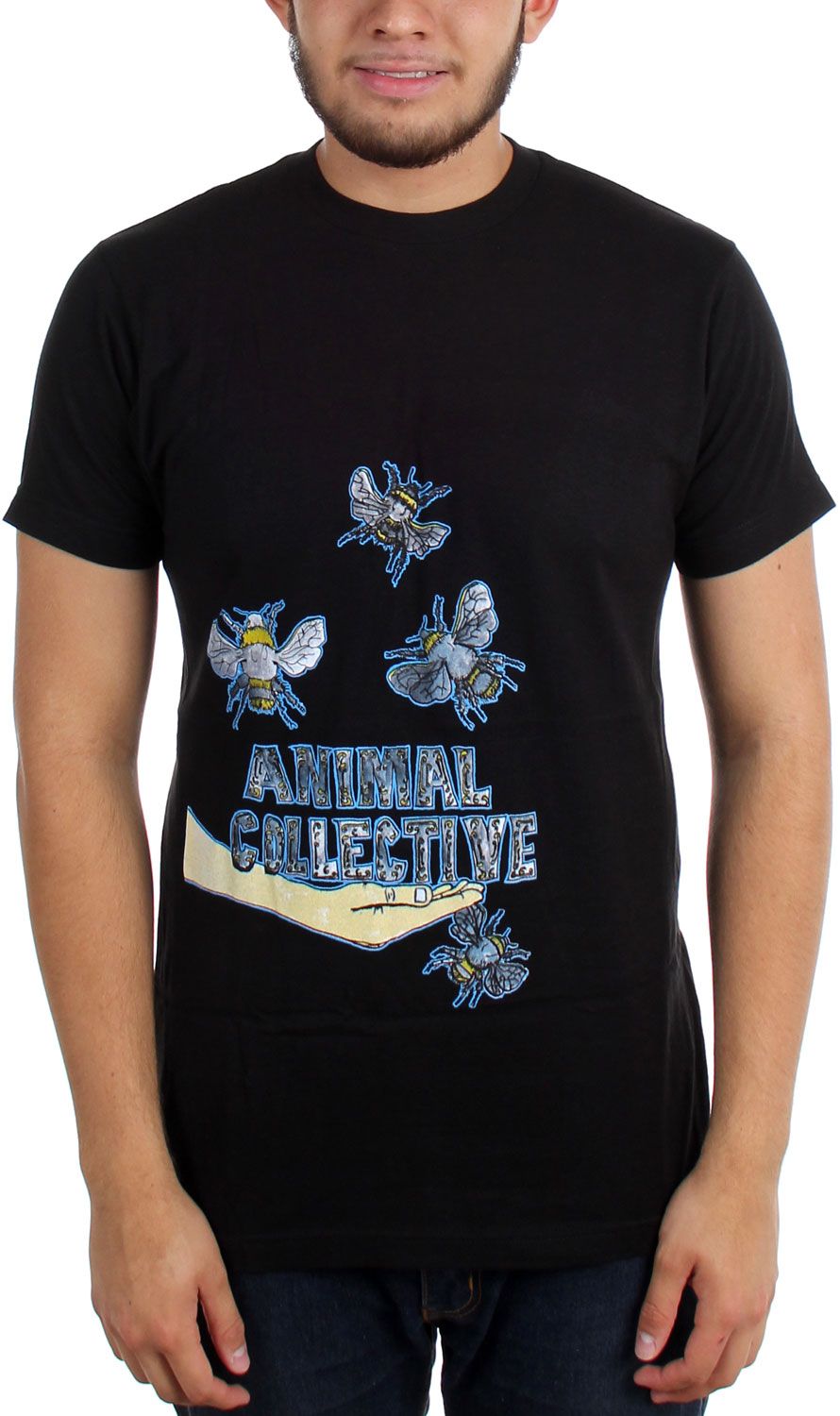 Image of Animal Collective - Mens Bees T-Shirt
