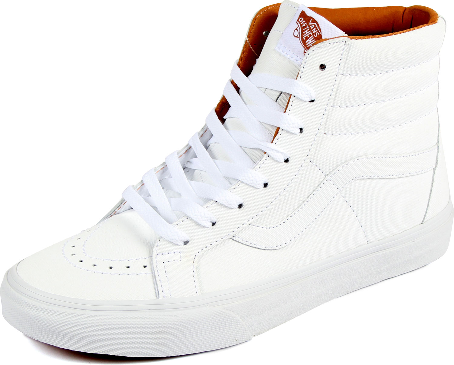 e50427880a3b27 Vans - Unisex Sk8-Hi Reissue Shoes in (Xtuff) True White Bran