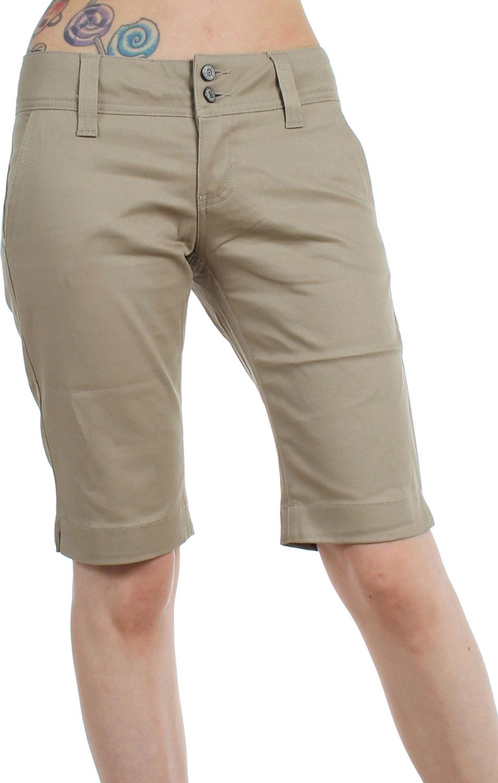 Dickies Girl - Juniors 11'' Inch 4 Pocket Bermuda Shorts