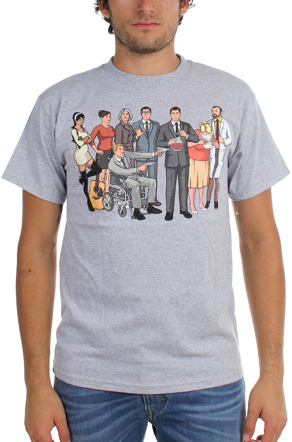 Image of Archer - Mens Group T-Shirt