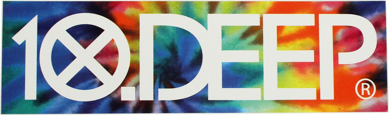 Image of 10 Deep - Tie Dye Sticker