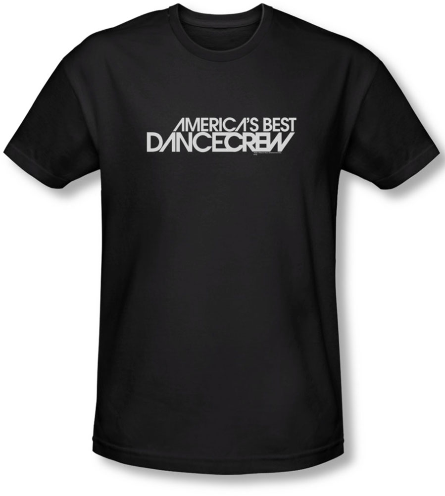 Image of AmericaS Best Dance Crew - Mens Dance Crew Logo T-Shirt In Black