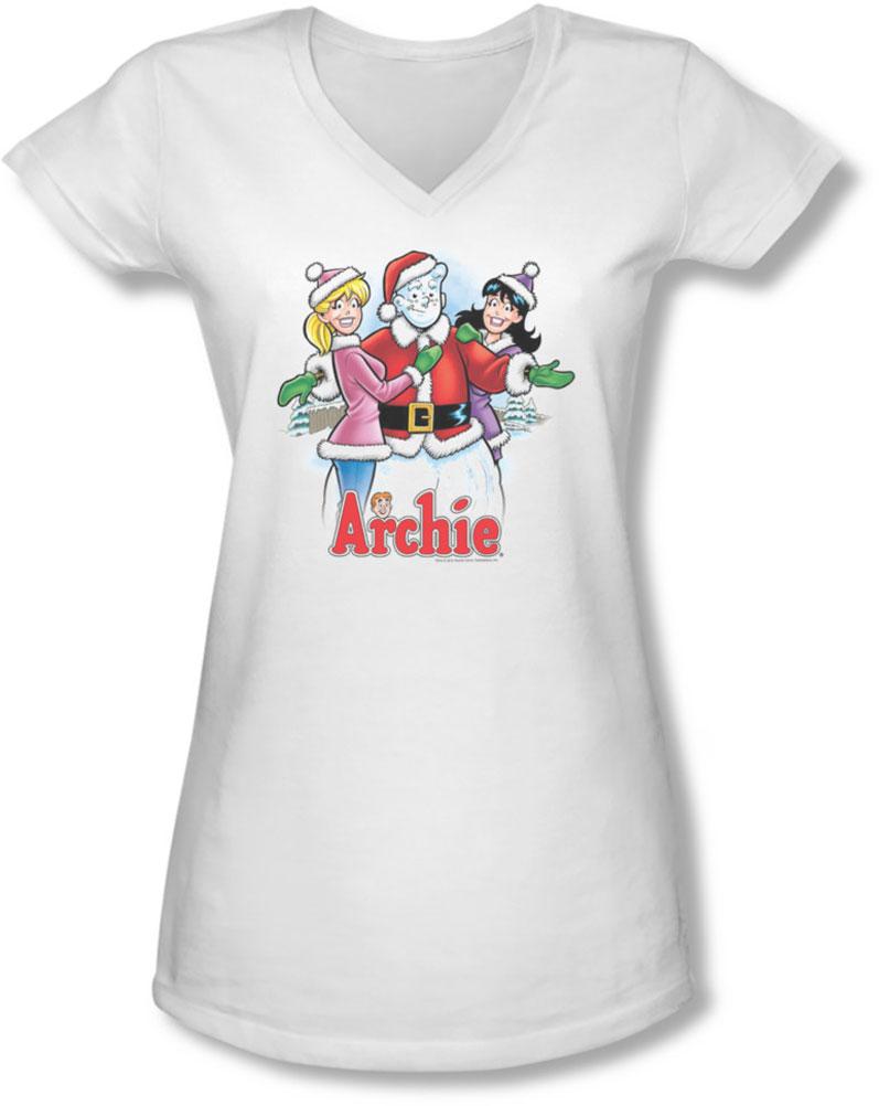 Image of Archie Comics - Juniors Cover 223 V-Neck T-Shirt