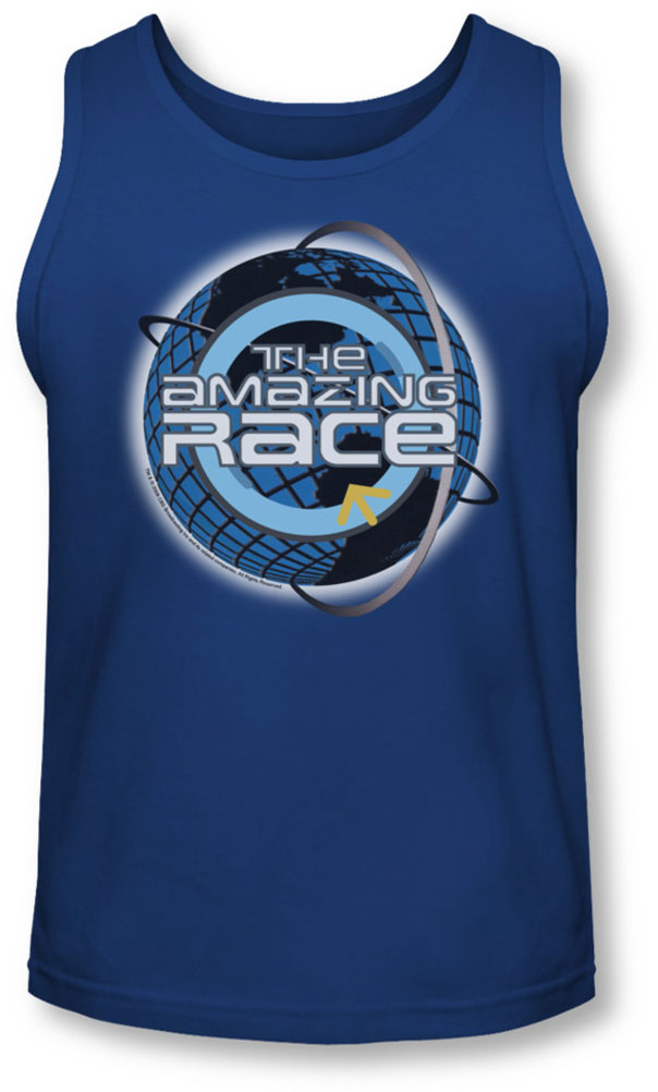 Image of Amazing Race - Mens Around The Globe Tank-Top