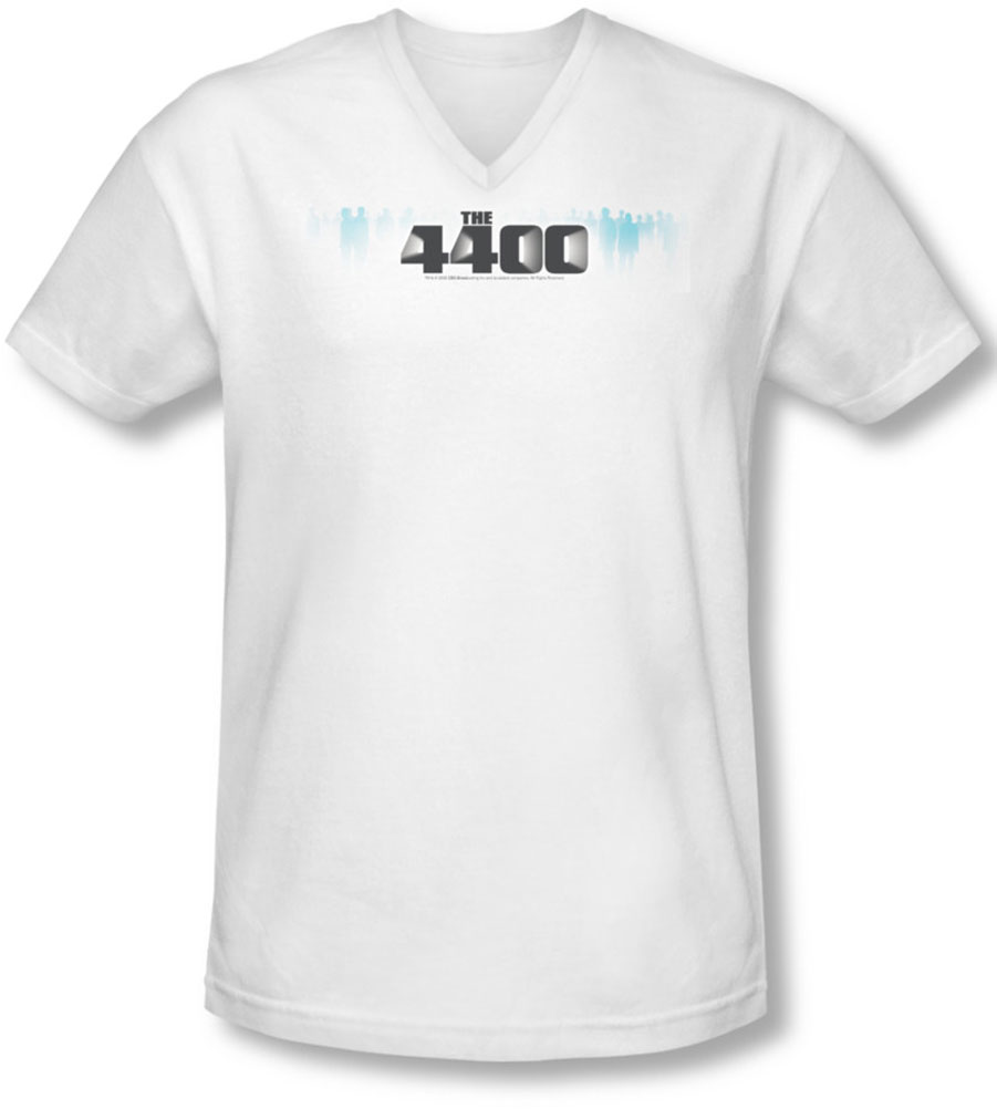 Image of 4400 - Mens The 4400 Logo V-Neck T-Shirt