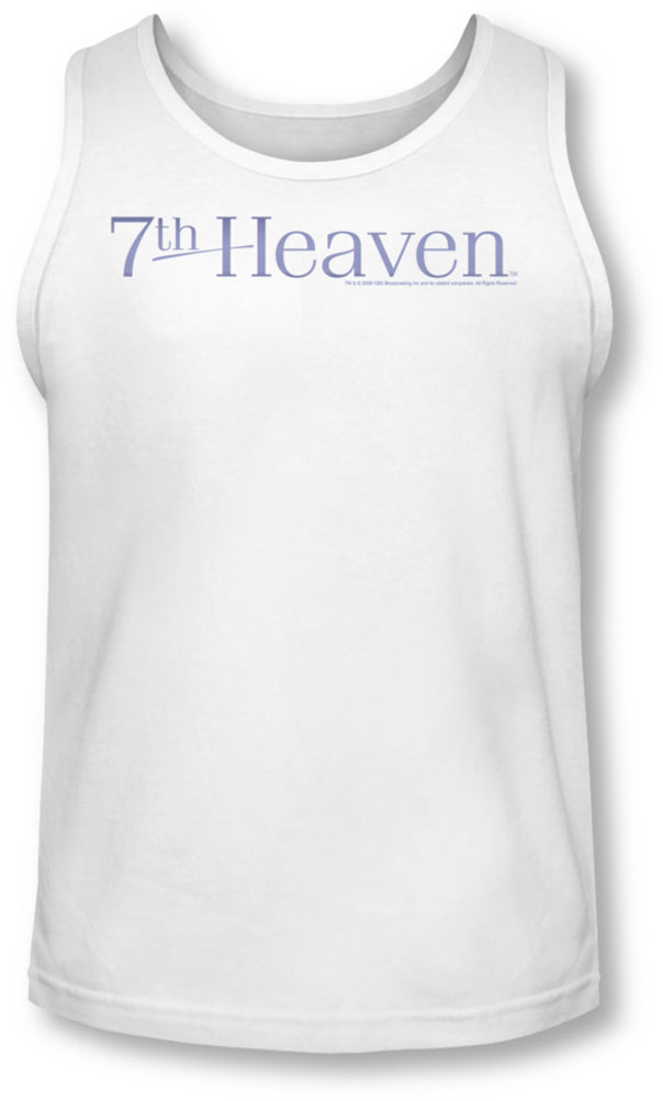 Image of 7Th Heaven - Mens 7Th Heaven Logo Tank-Top