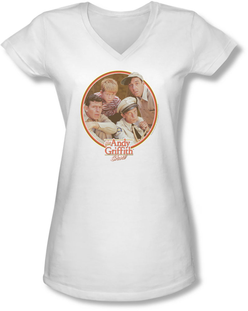 Image of Andy Griffith - Juniors Boys Club V-Neck T-Shirt