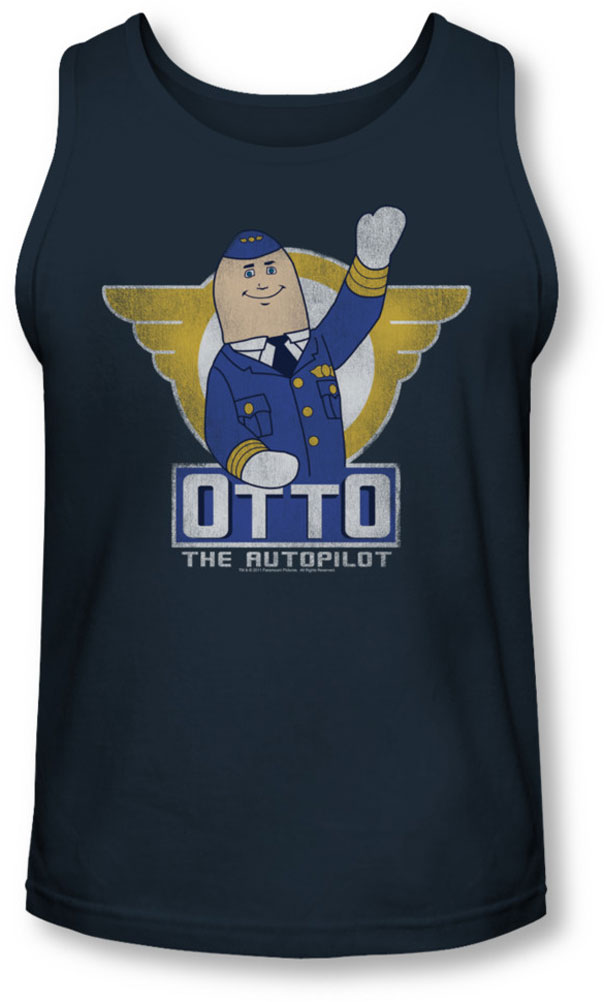 Image of Airplane - Mens Otto Tank-Top