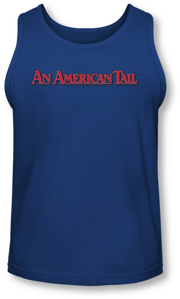 Image of American Tail - Mens Title Tank-Top