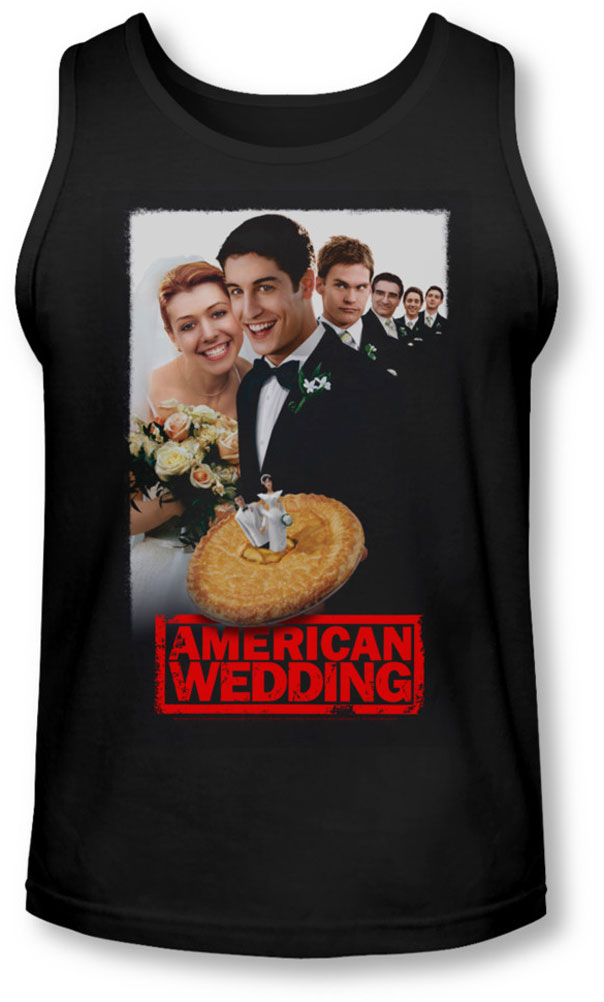 Image of American Wedding - Mens Poster Tank-Top