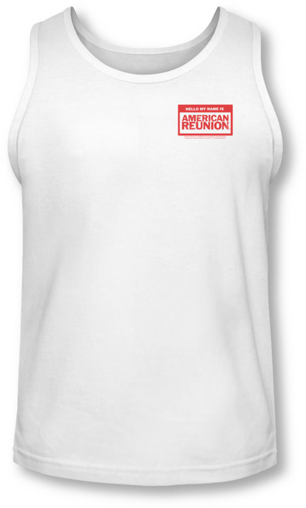 Image of American Reunion - Mens My Name Is Tank-Top