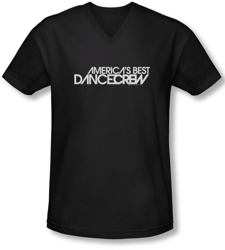Image of Abdc - Mens Dance Crew Logo V-Neck T-Shirt