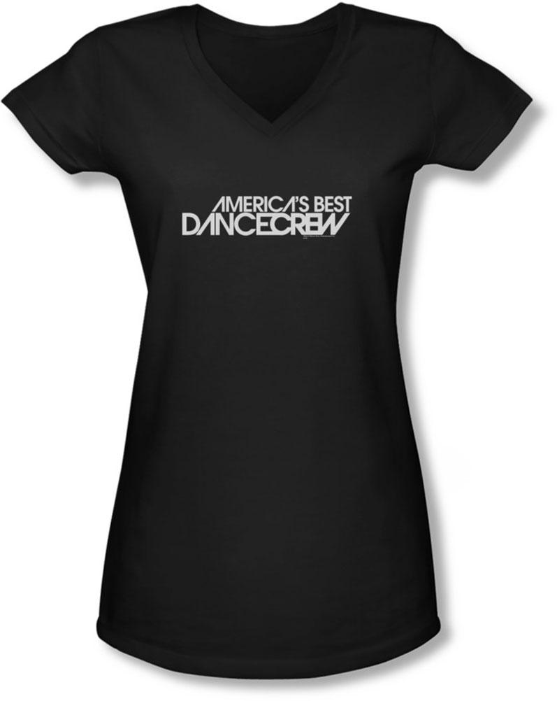 Image of Abdc - Juniors Dance Crew Logo V-Neck T-Shirt