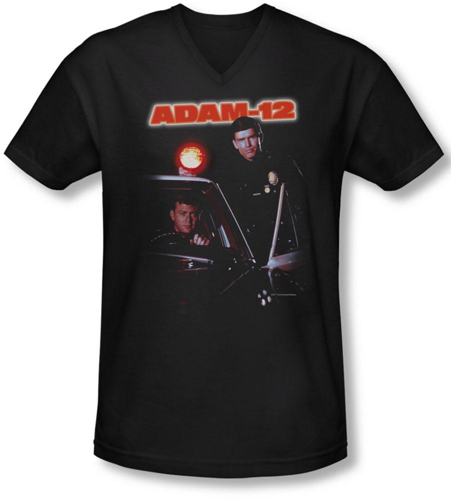 Image of Adam 12 - Mens Spotlight V-Neck T-Shirt