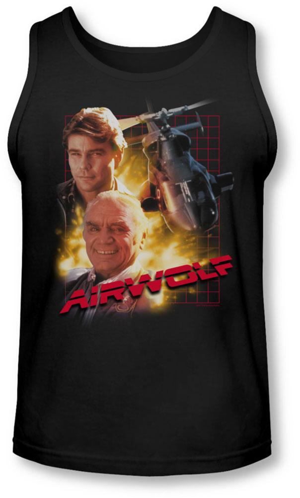 Image of Airwolf - Mens Airwolf Tank-Top