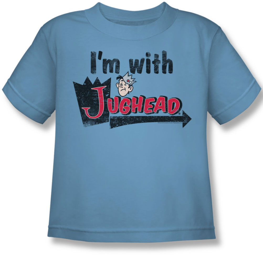Image of Archie Comics - IM With Jughead Juvee T-Shirt In Carolina Blue