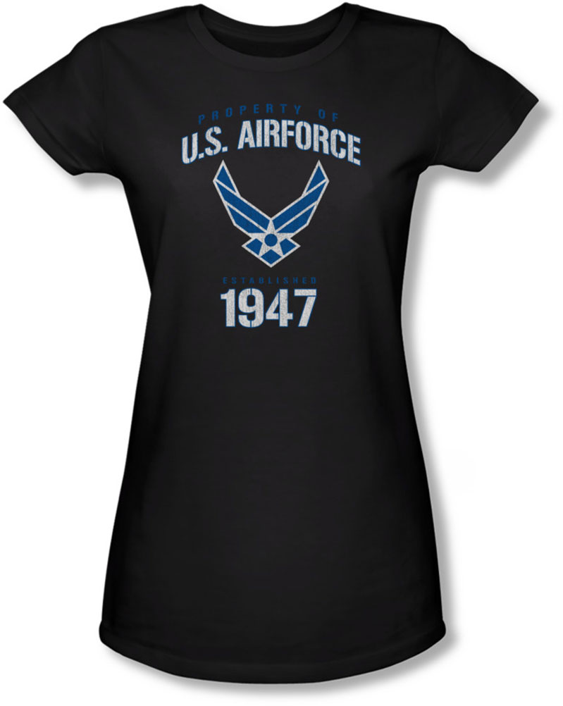 Image of Air Force - Juniors Property Of Sheer T-Shirt