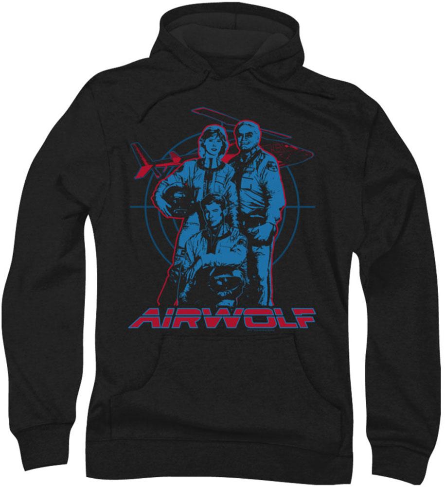 Image of Airwolf - Mens Graphic Hoodie