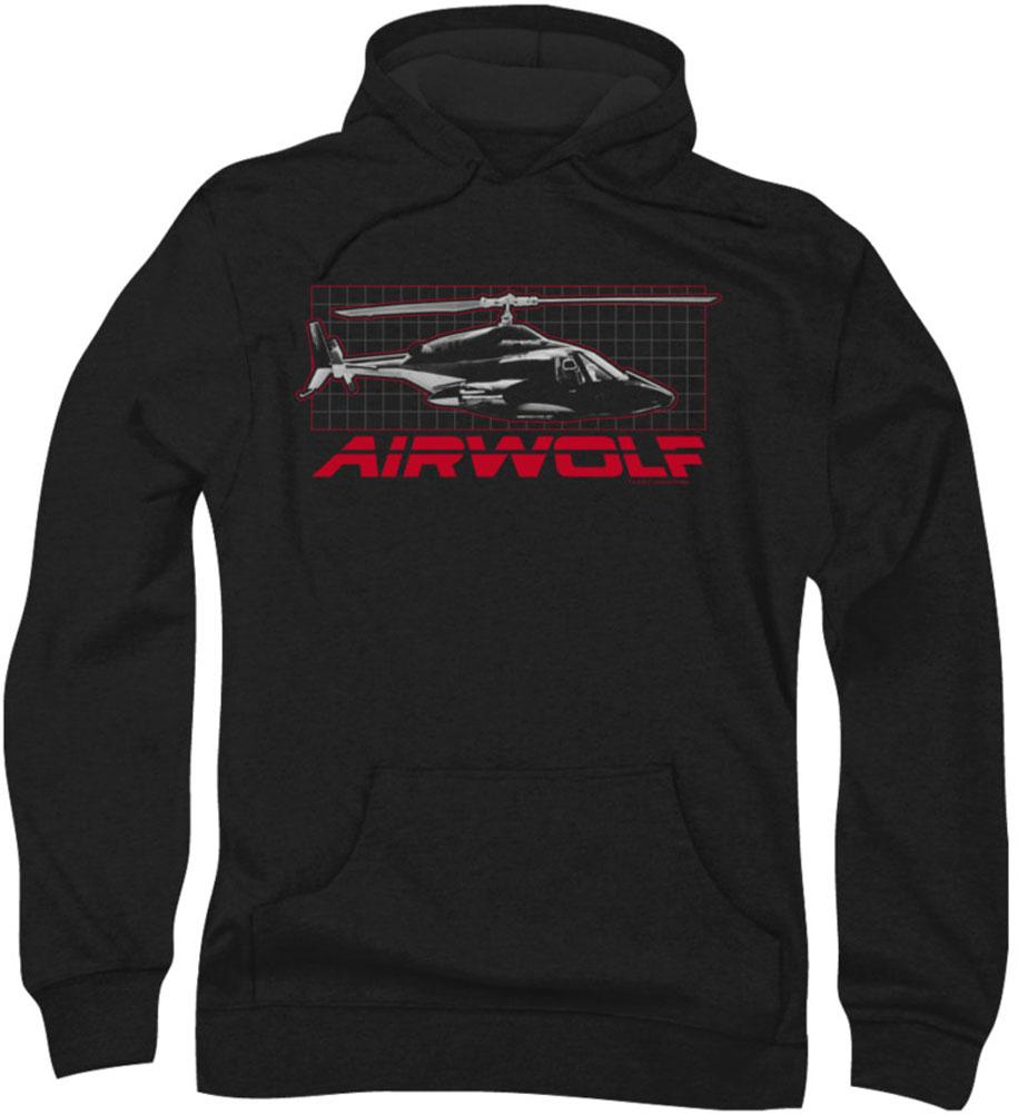 Image of Airwolf - Mens Grid Hoodie