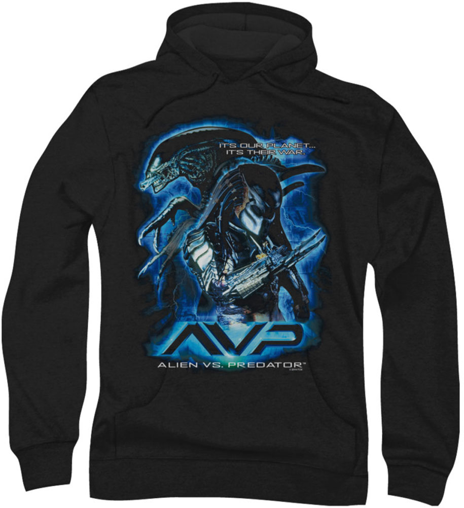 Image of Alein Vs Predator - Mens Their Way Hoodie
