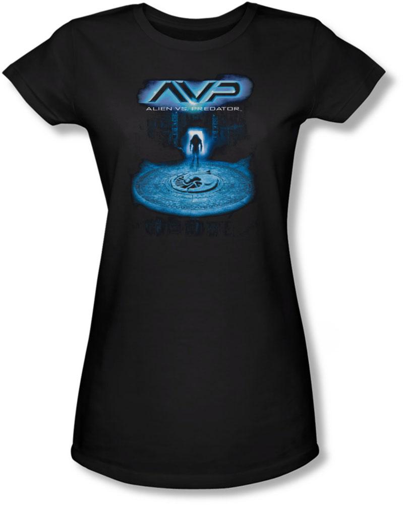 Image of Alien Vs Predator - Juniors Entrance Sheer T-Shirt