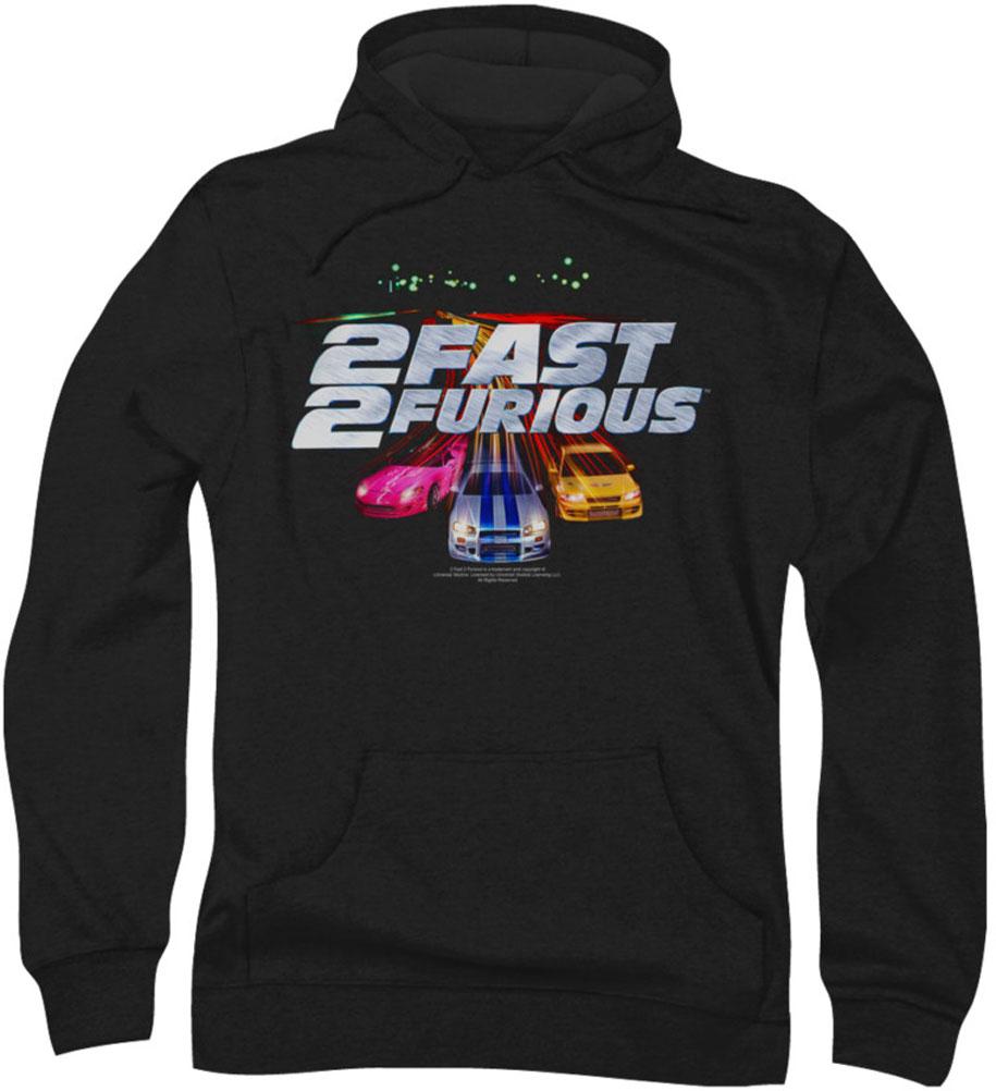 Image of 2 Fast 2 Furious - Mens Logo Hoodie