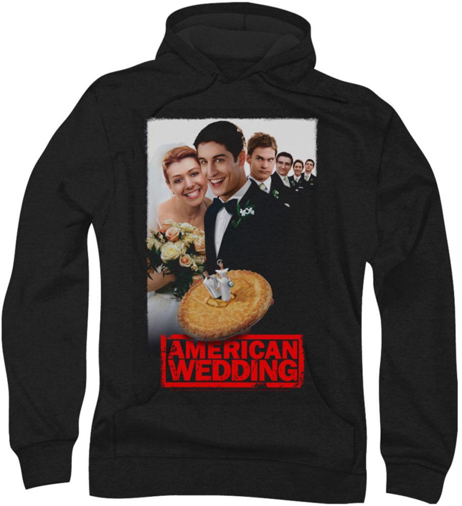 Image of American Wedding - Mens Poster Hoodie