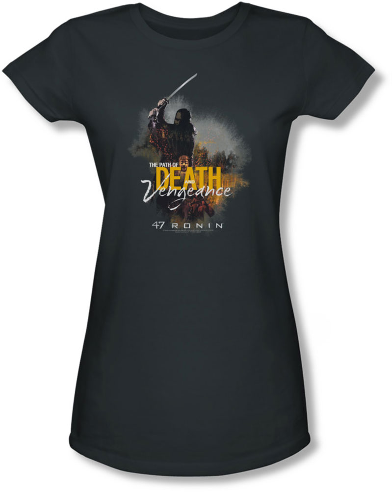 Image of 47 Ronin - Juniors Death And Vengeance Sheer T-Shirt