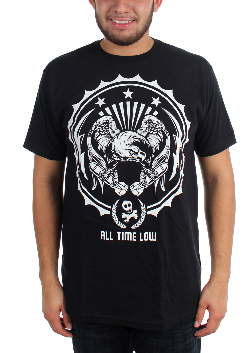 Image of All Time Low - Mens Da Bomb Slim Fit T-Shirt