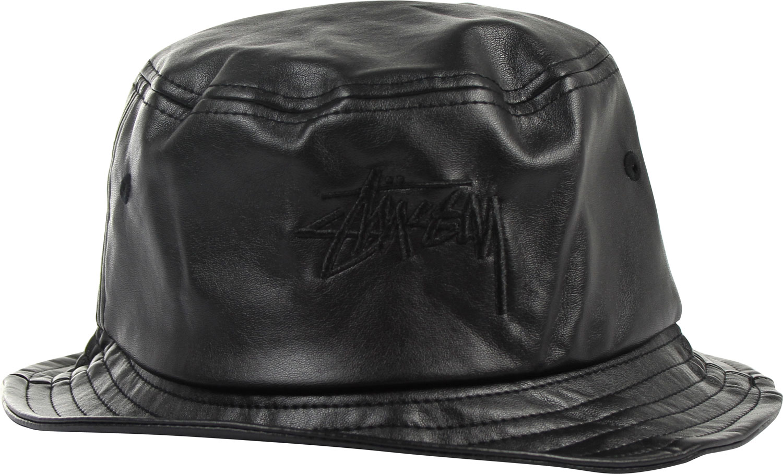 Stussy - Stock Leather Bucket Hat