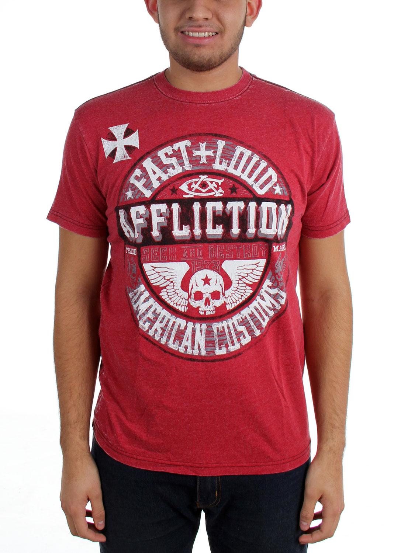 Image of Affliction - Mens AC Volume T-Shirt
