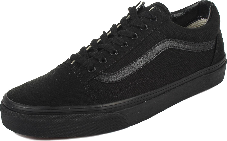 42923efe Vans - U Old Skool Shoes In Black/Black