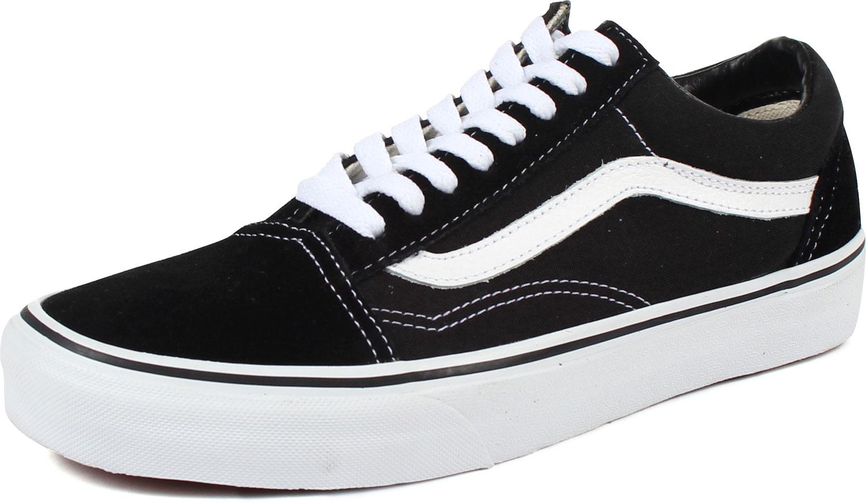 ebe19fd4 Vans - U Old Skool Shoes In Black/White