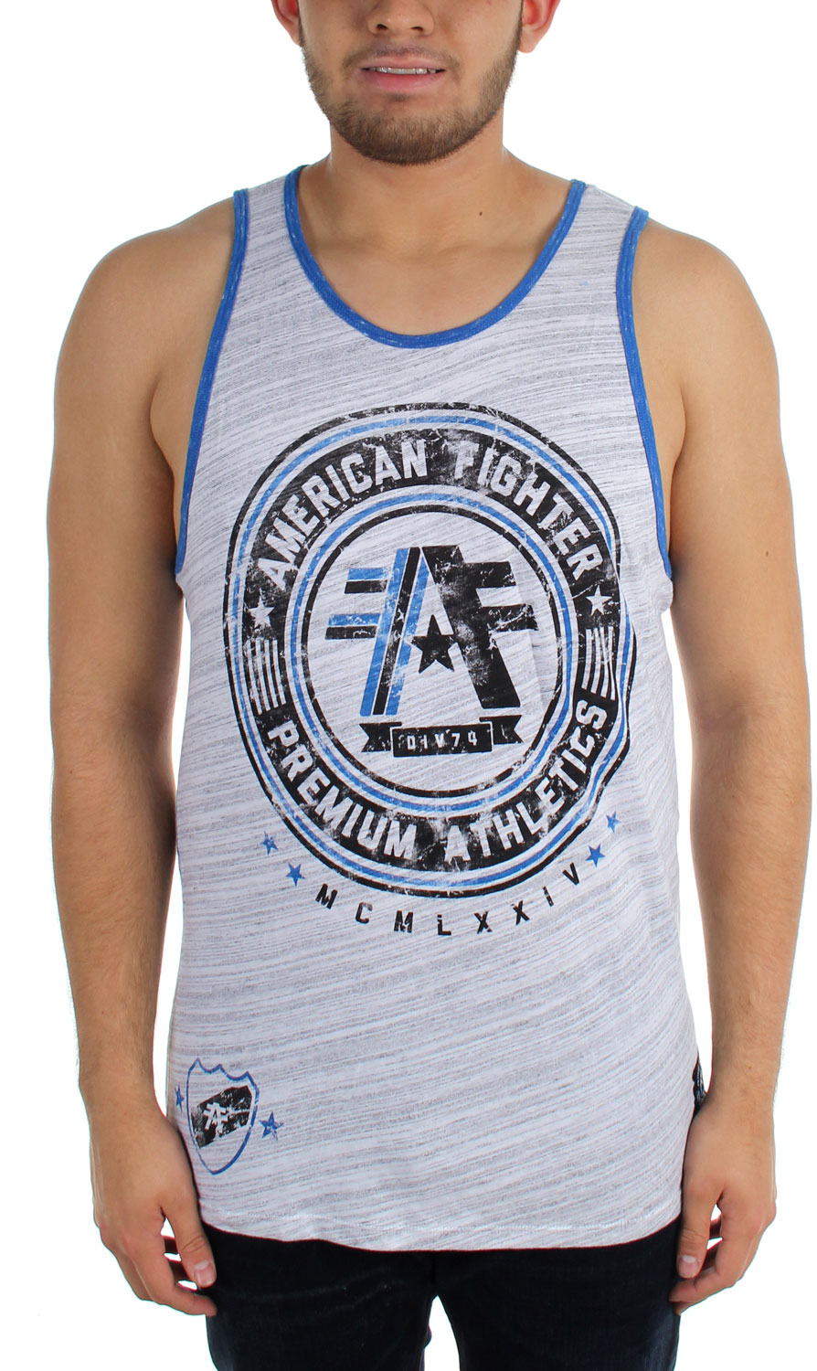 Image of American Fighter - Mens Linfield MarbleTank Top