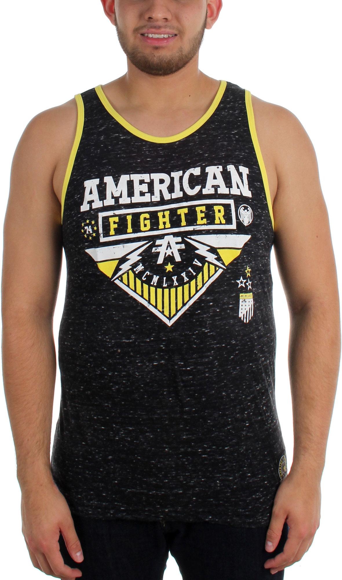 Image of American Fighter - Mens Ohio Slub Tank Top
