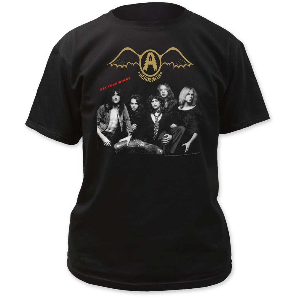 Image of Aerosmith - Mens Get Your Wings Adult T-Shirt