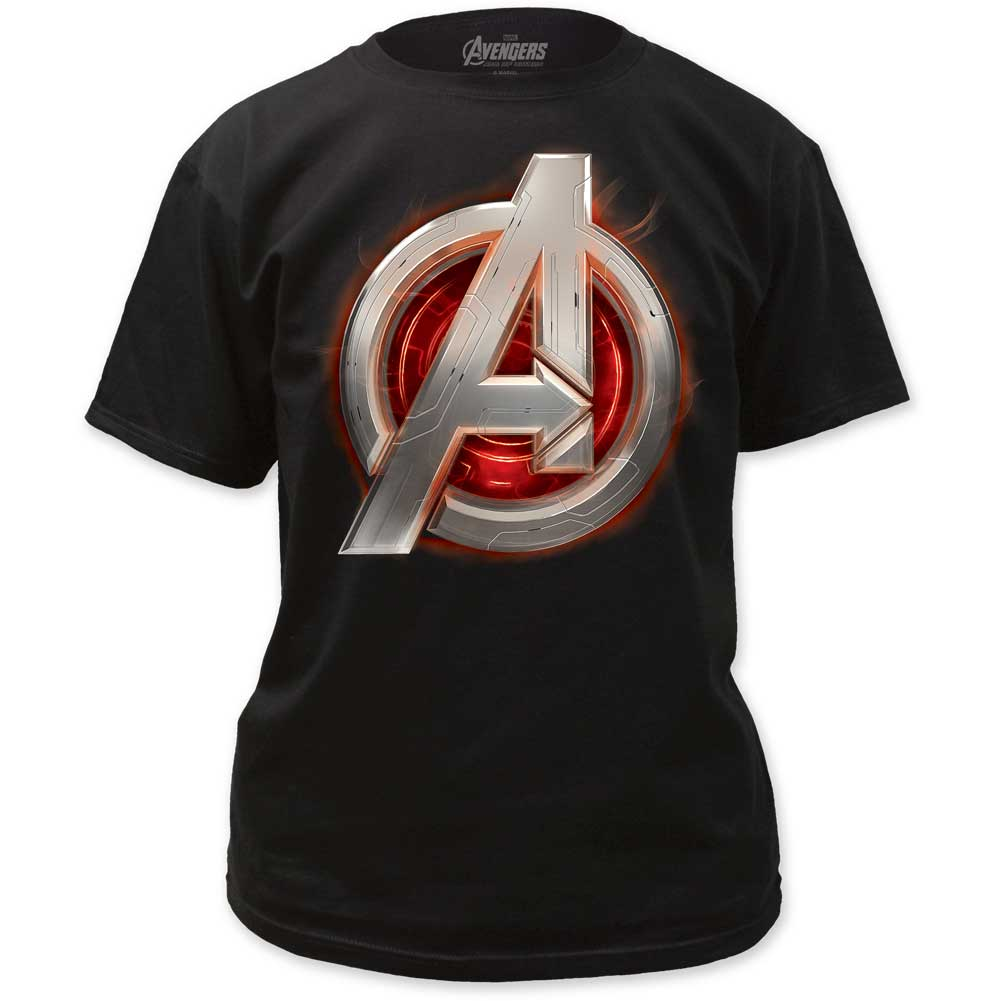 Image of Age of Ultron - Mens Avengers Assemble Adult T-Shirt