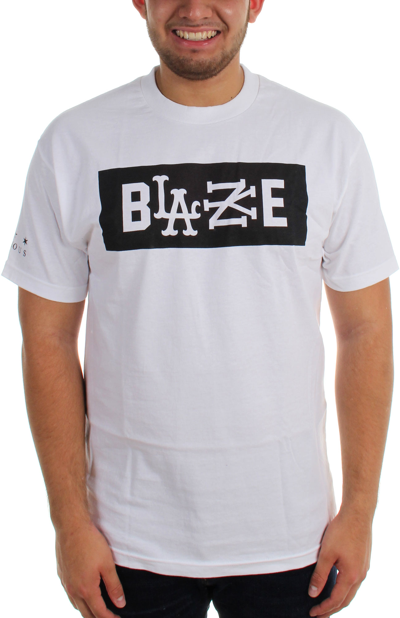 Famous Stars and Straps Men RS Blaze Tee white