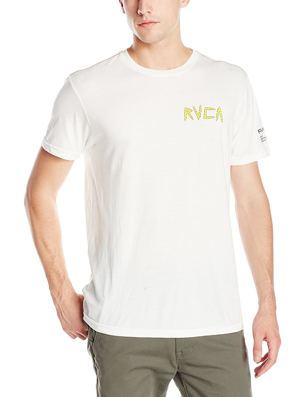 Rvca mens leines tiger t shirt for Rvca mens t shirts
