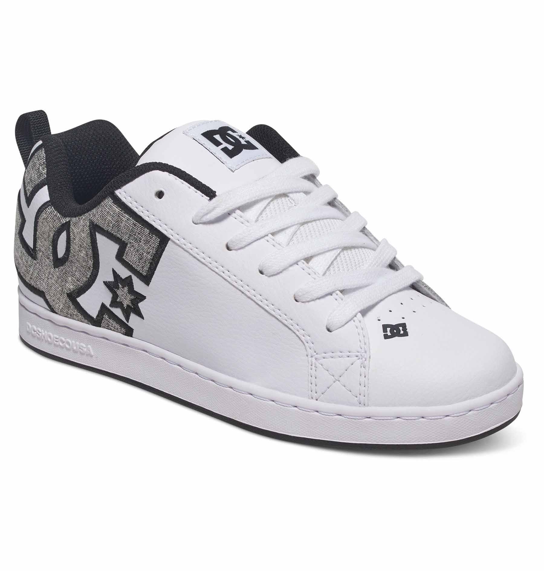 dc womens court graffik se lowtop shoes