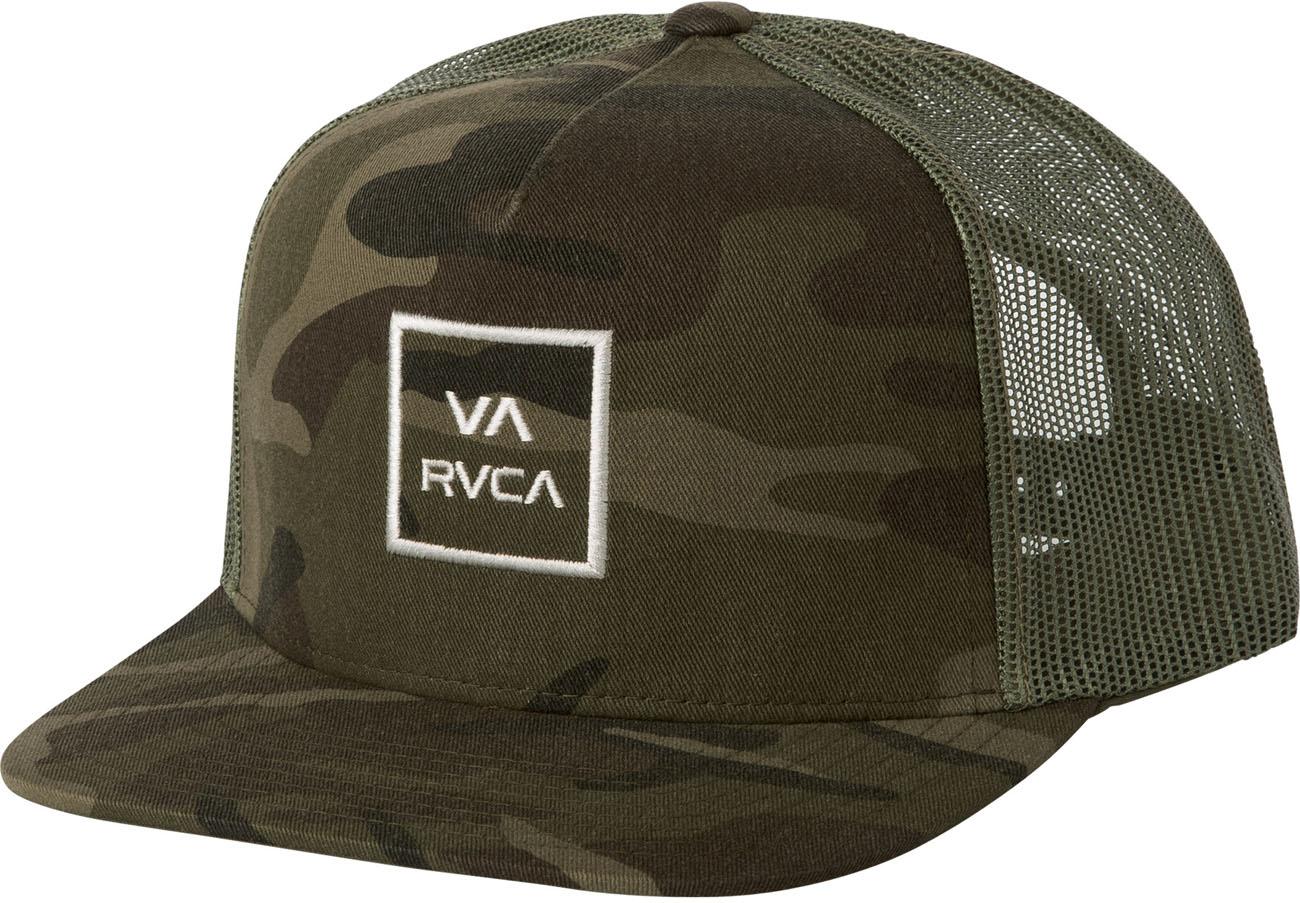 96c7faf218a RVCA - Mens Va All The Way Trucker Hat