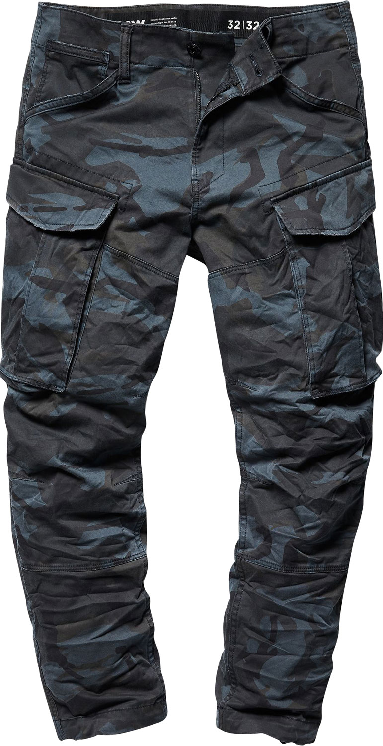G Star Raw Mens Rovic 3d Straight Tapered Cargo Pants