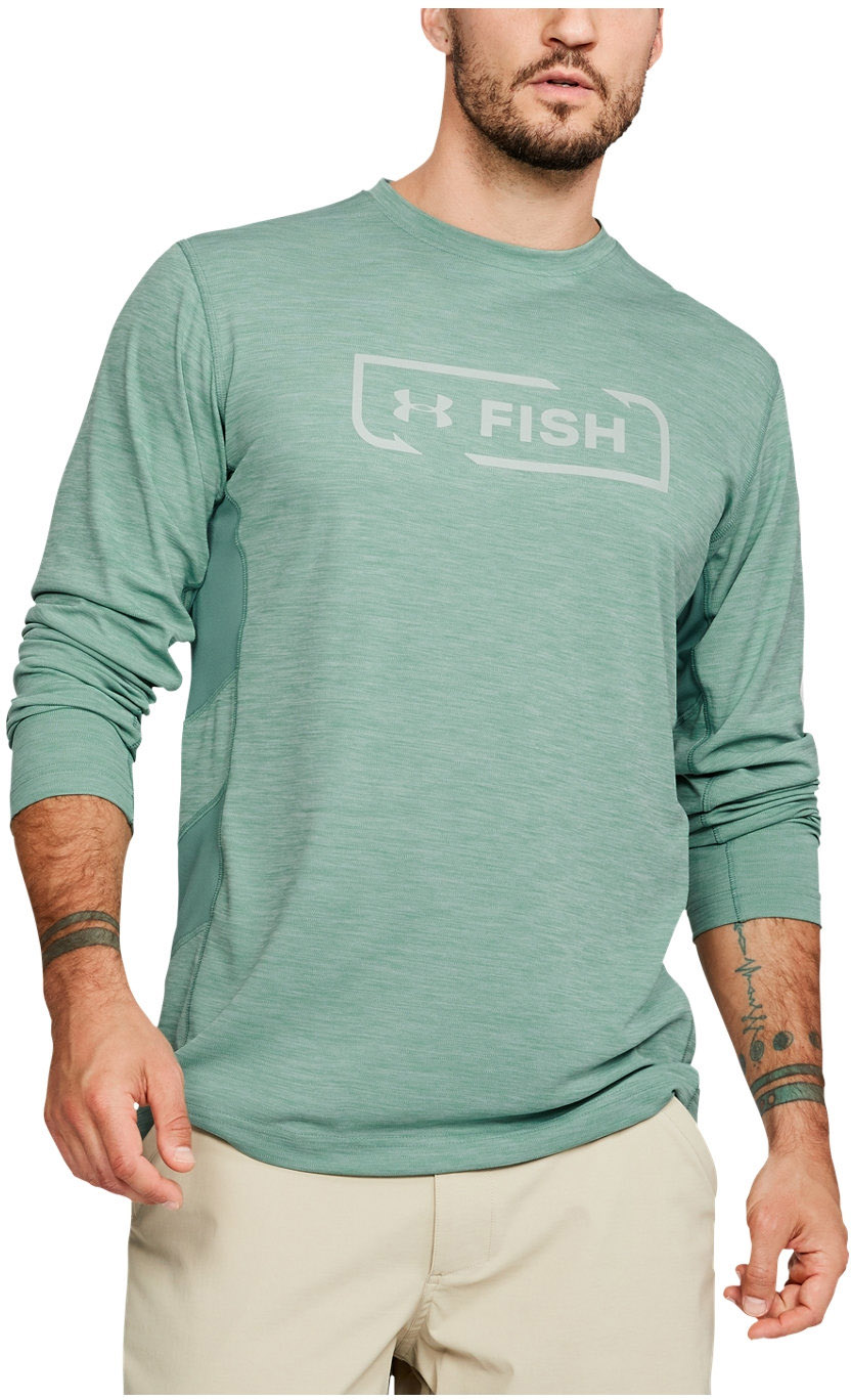 f7d51831 Under Armour - Mens Fish Hunter Icon LS Long-Sleeves T-Shirt