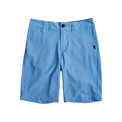 Quiksilver - Boys Union Heather Amphibian 19 Hybrid Shorts