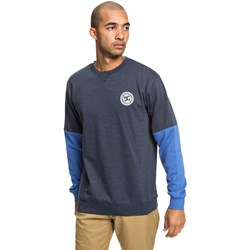DC - Mens Rebelsleeveblok Crew Neck Sweater