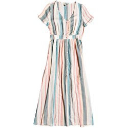 Roxy - Womens Furore Lagoon Stripe Smocked Dress