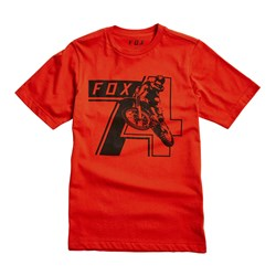 Fox - Unisex Youth Heritage 74 T-Shirt