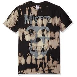 Misfits - Mens Classic Fiend Skull w/Big Bleach Spots T-Shirt