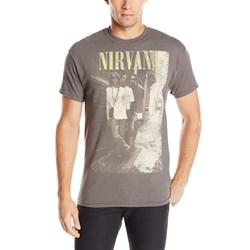 Nirvana - Mens Brick Wall Alley Photo T-Shirt