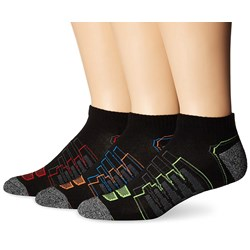 New Balance - Mens Performance Low Cut 3 Pack Socks